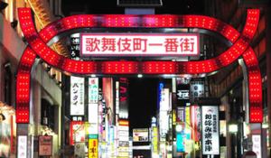 歌舞伎町夜の世界