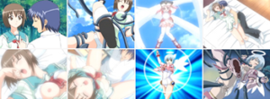 無修正エロアニメHanimeZ魔界天使ジブリールシリーズ